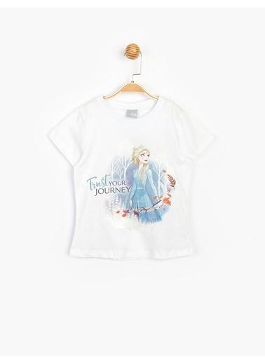 Frozen Tişört Beyaz